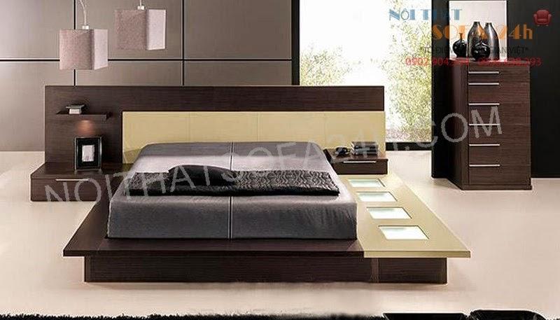 Giường ngủ GN087
