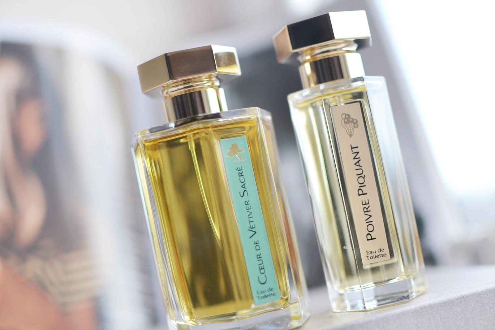 l'artisan parfumeur sale, coeur de sacre perfume, poivre piquant perfume