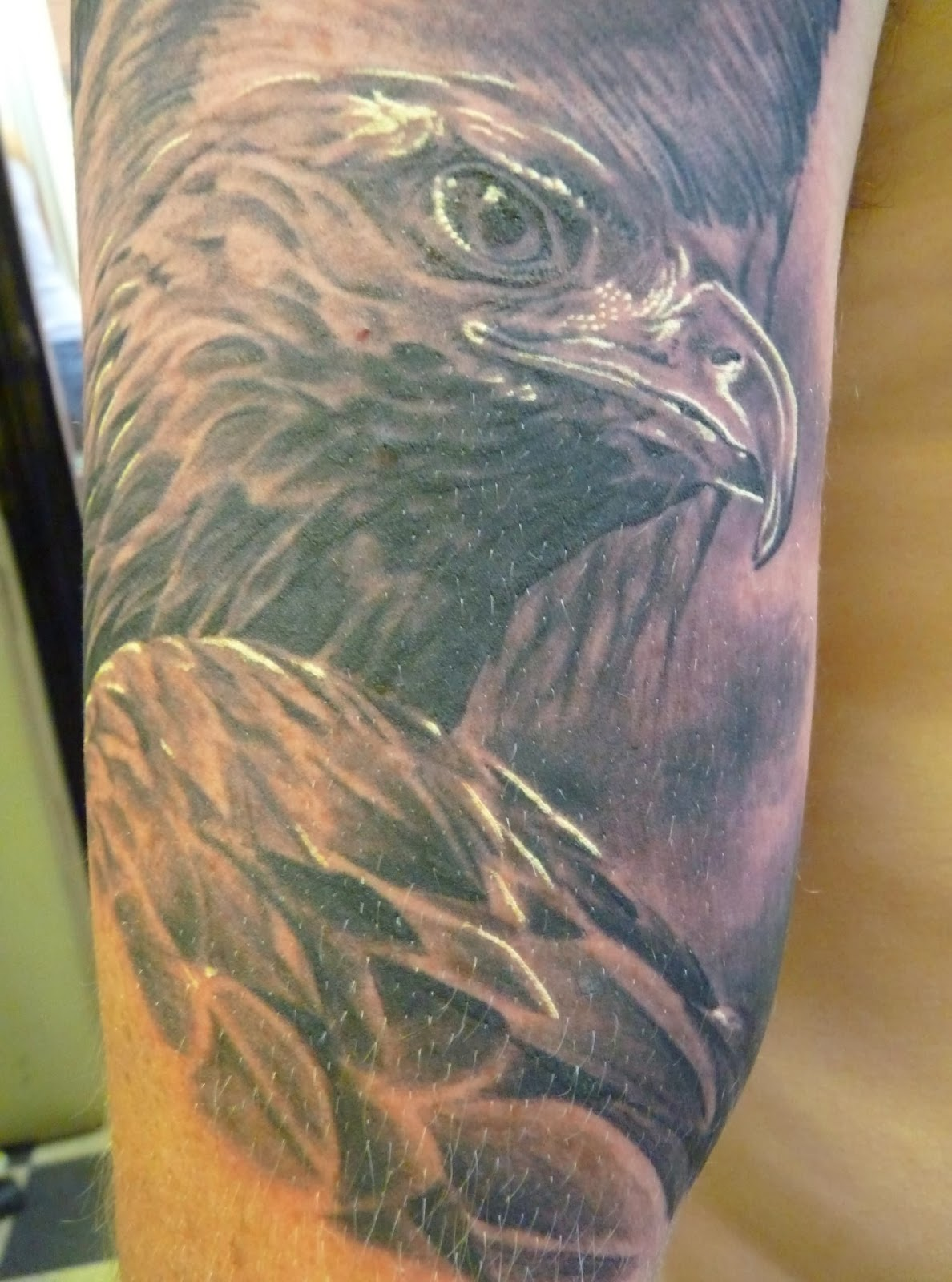 Eagle feather tattoos meaning