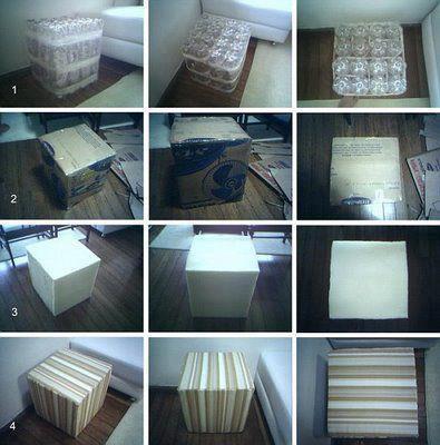 El detalle que hace la diferencia ideas para hace for Muebles con cosas recicladas