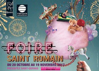 Foire Saint Romain Rouen
