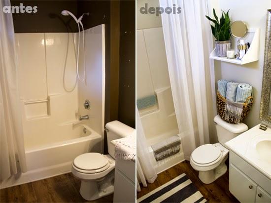 renovacao no banheiro