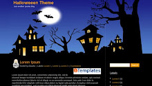 Descargar Halloween Theme gratis en BTemplates