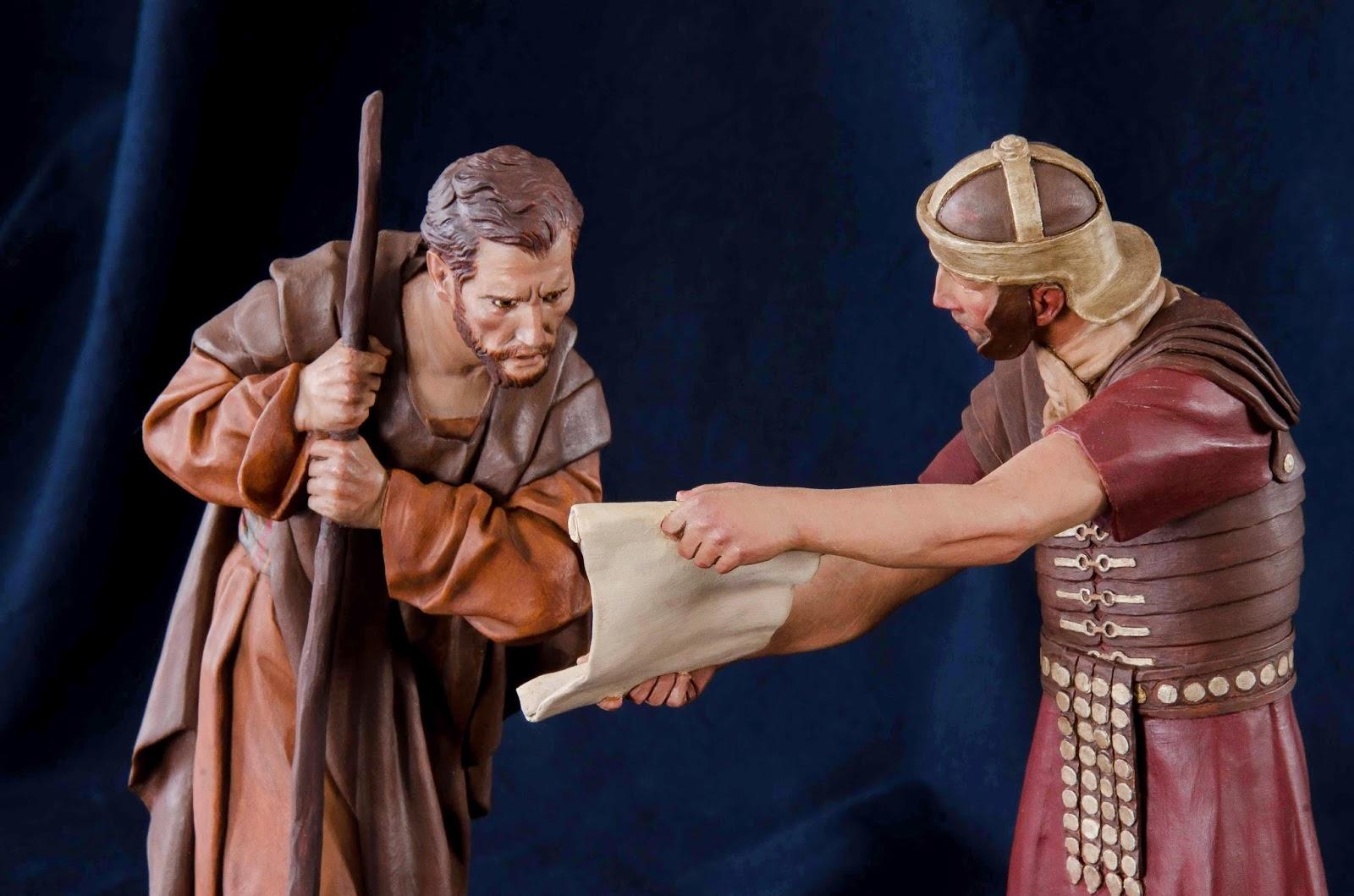 Belén presepe nativity krippe Arturo Serra escultura barro cocido 13