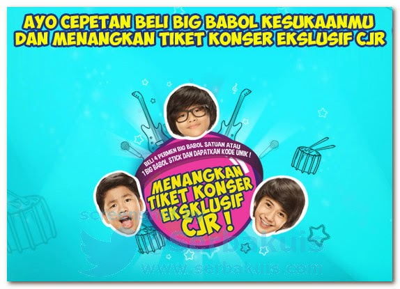 Promo Berhadiah Tiket Exclusive Concert CJR
