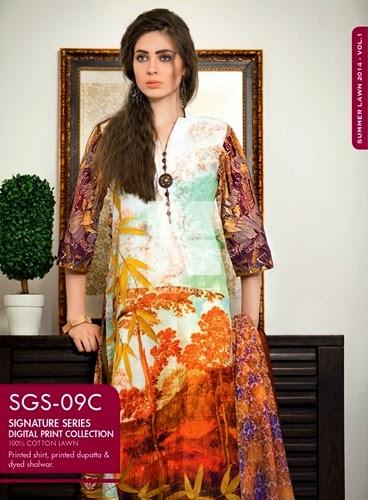 Gul Ahmed Signature Dresses