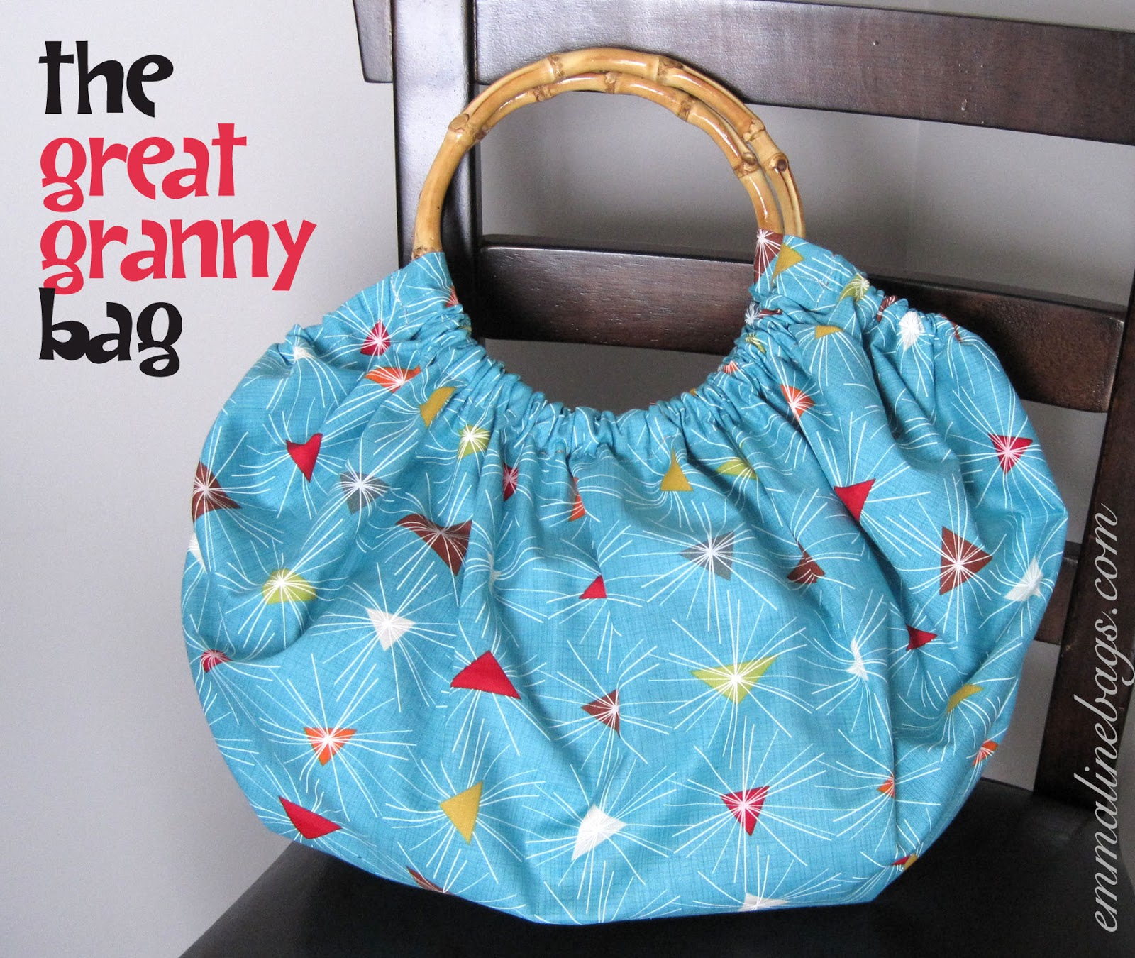 Free Patterns For Purses And Bags : ... Patterns and Purse Supplies: Free Purse Tutorial: The Great Granny Bag