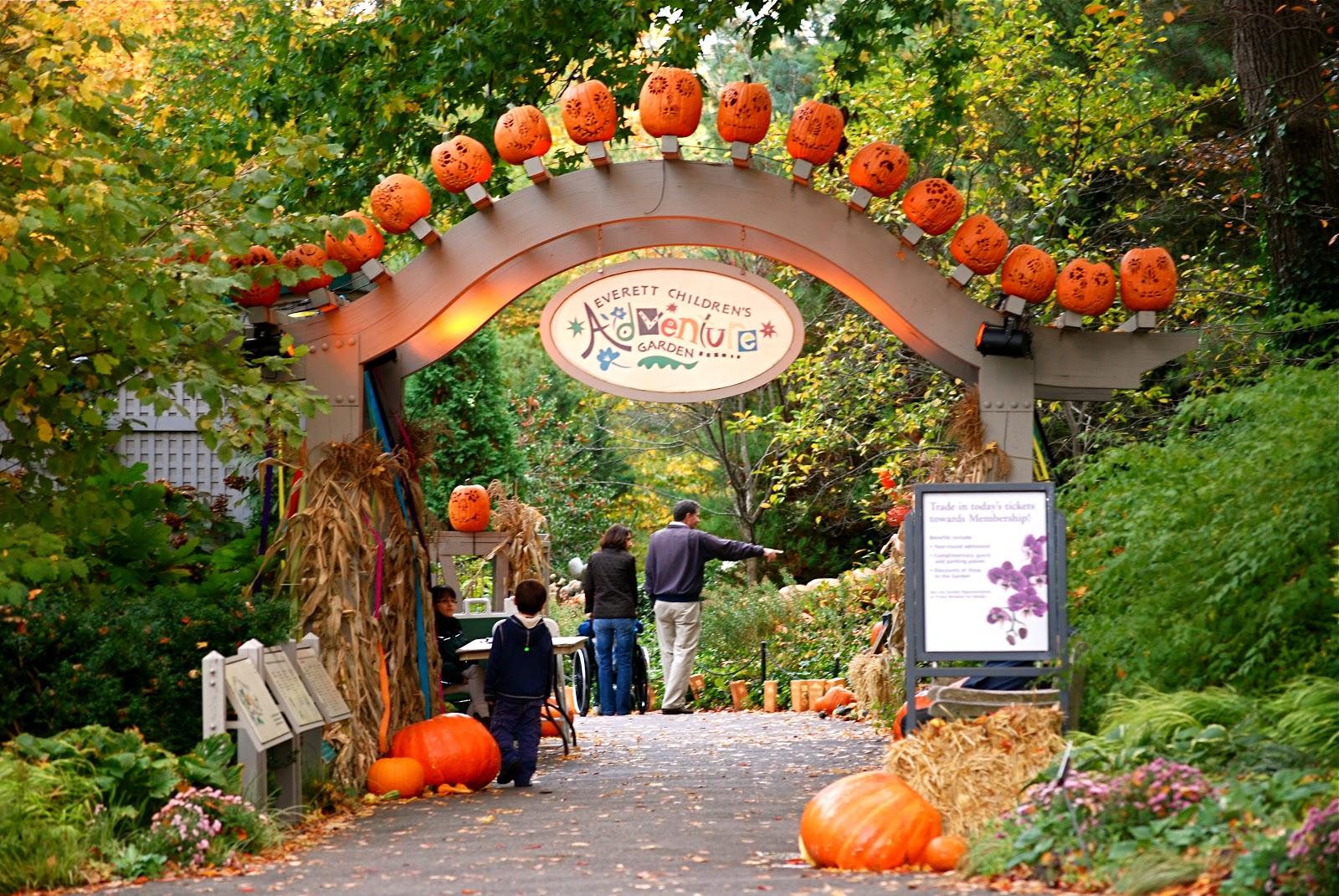 Nyc Nyc Haunted Pumpkin Garden At The New York Botanical Garden