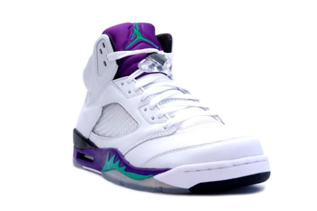 Nike Air Jordan 5 Grape