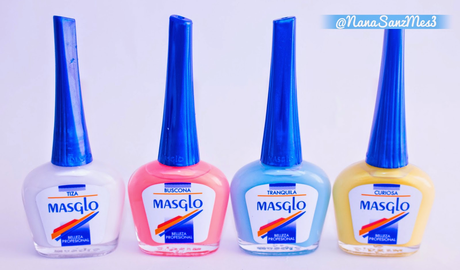Masglo Nail Polish Names | Hession Hairdressing