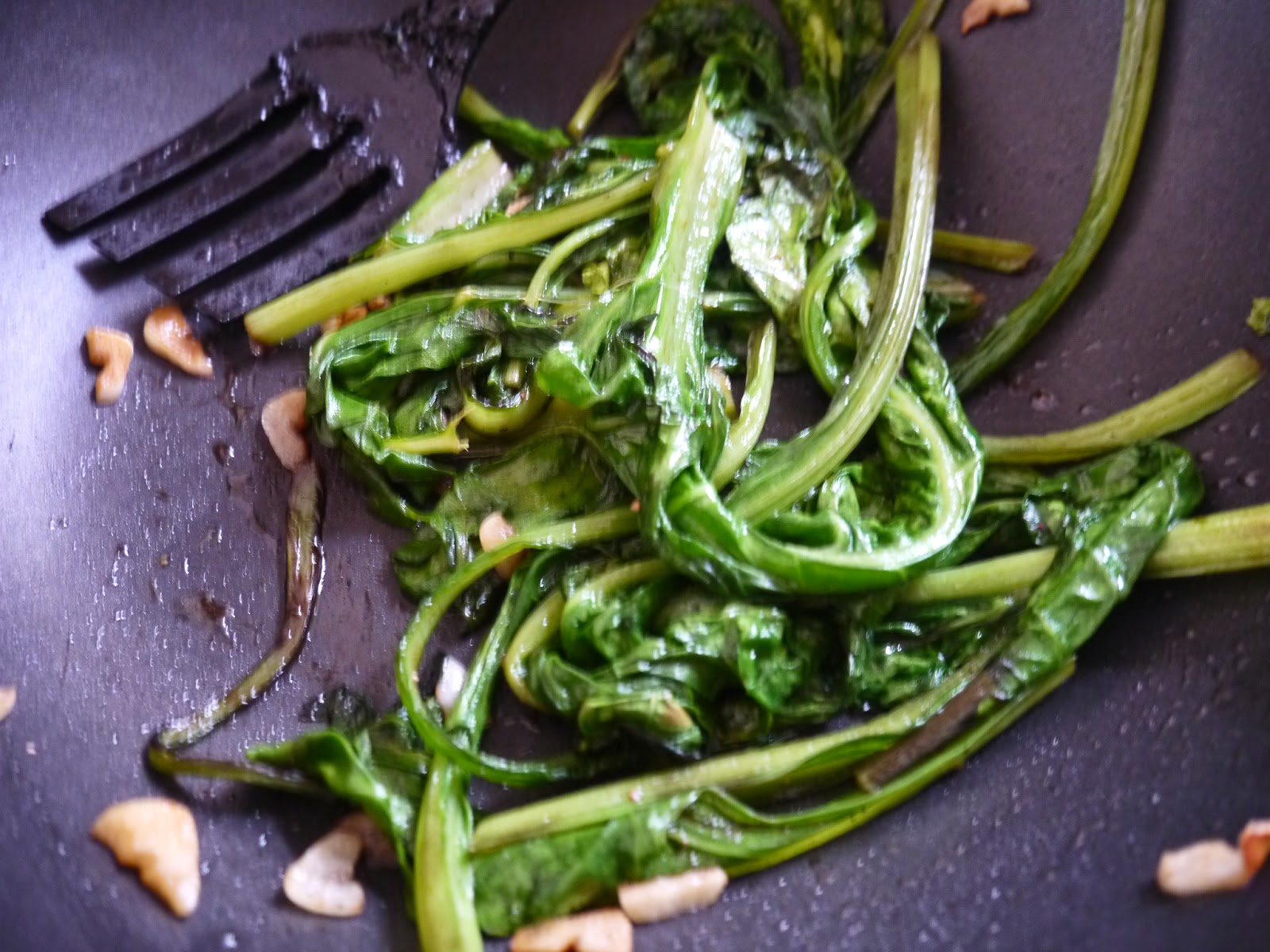 Quick and easy Asian style chard recipe by Appetit Voyage