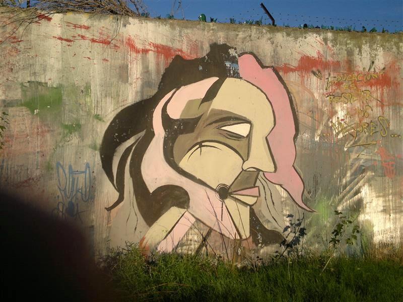 Graffiti en Bahía Blanca