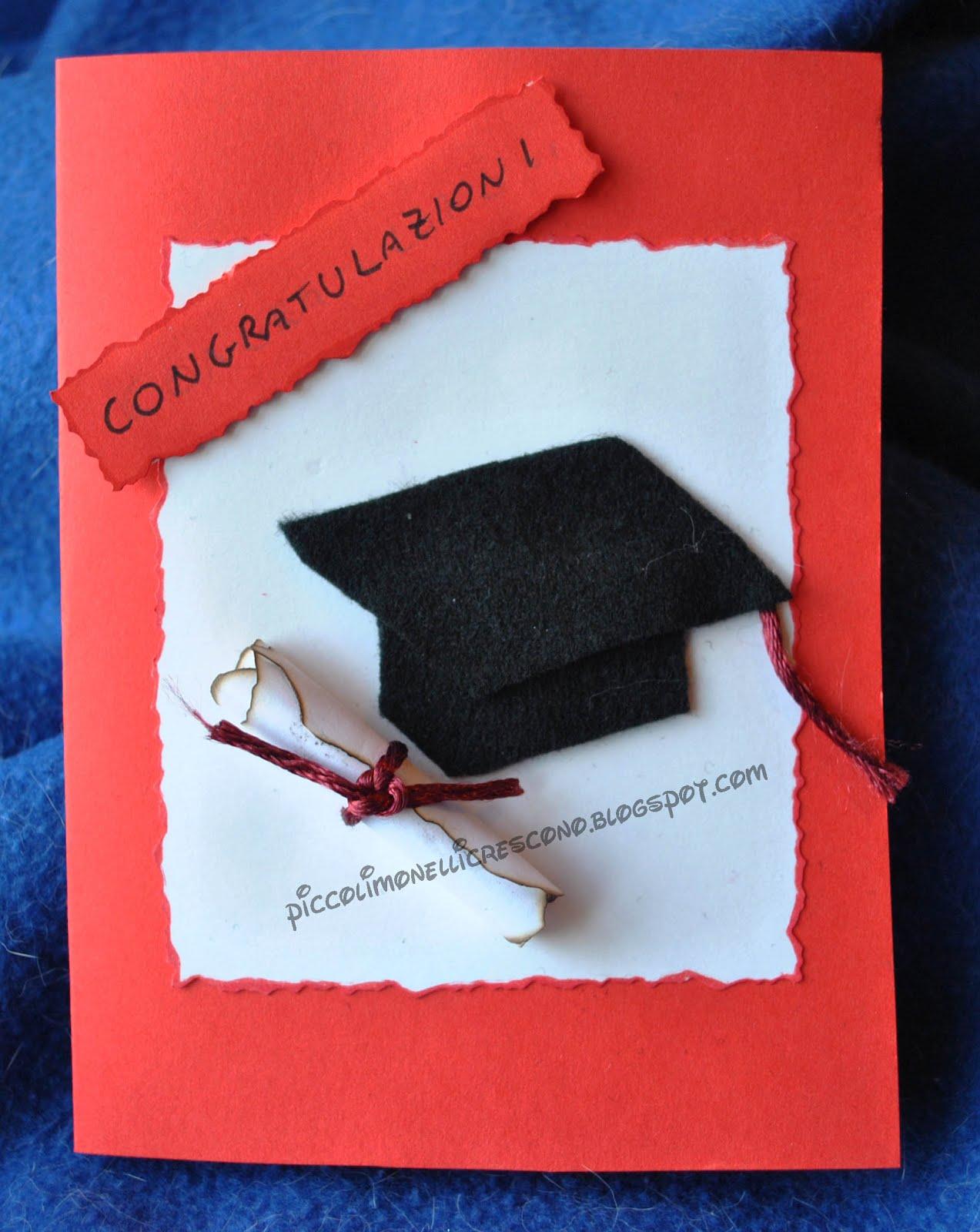 Exceptionnel PiccoliMonelliCrescono: Un biglietto per una laurea IS43