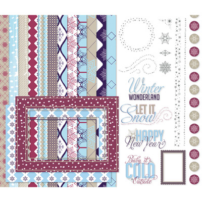 Stampin' Up! Let It Snow Digital Kit Digital Download
