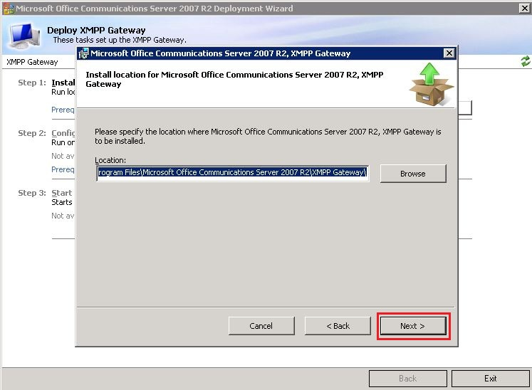 how to add _xmpp-server _tcp to miscosoft dns