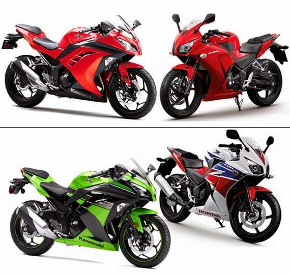 Honda CBR 250RR vs Kawasaki Ninja 250R