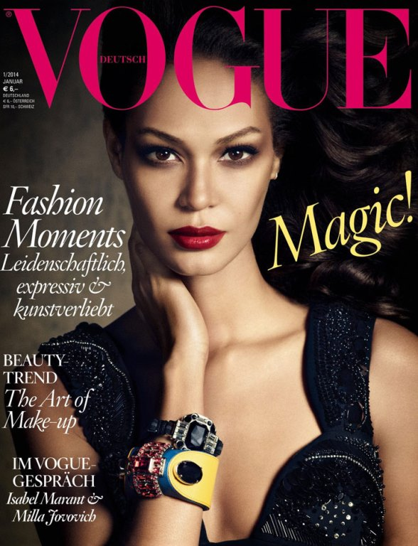 vogue germany january 2014 cover