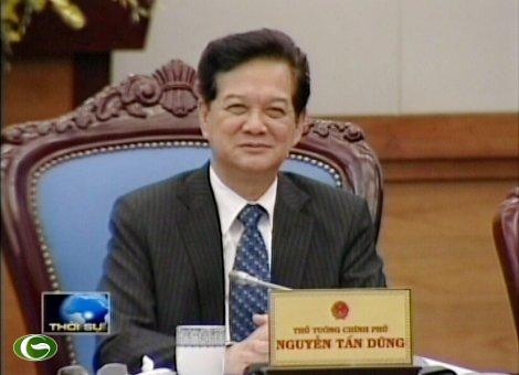 Thủ tướng Nguyễn Tấn Dũng tham vấn chính sách kinh tế của các chuyên gia