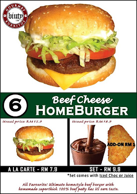 set 6-Beef Cheese HomeBurger