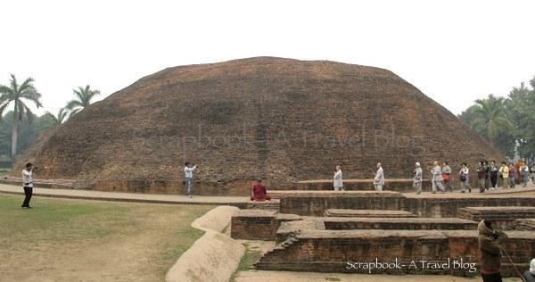 Ramabhar Stupa Khushinagar Uttar Pradesh India