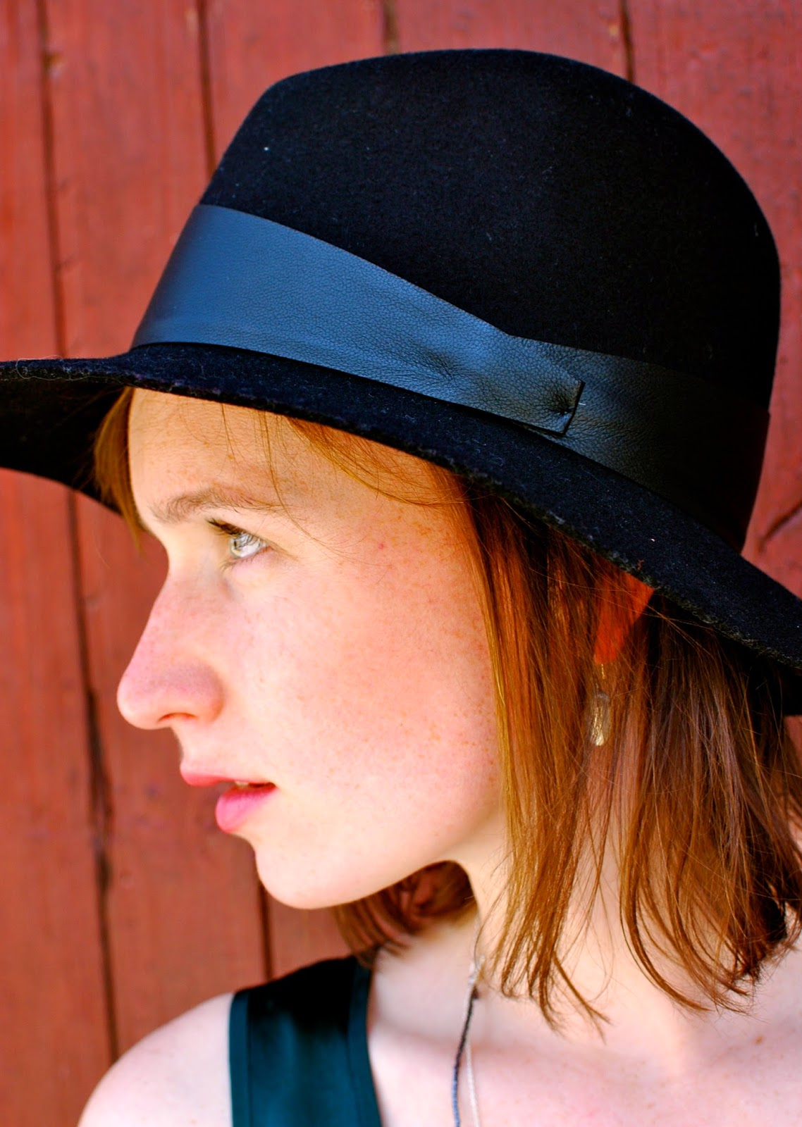 black fedora, fall hat, nashville style, nashville fashion blog
