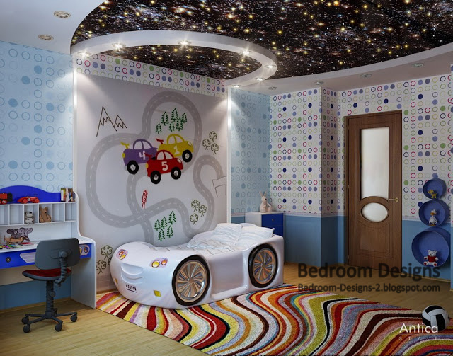 kids bedroom design ideas for bedroom furniture and ceiling