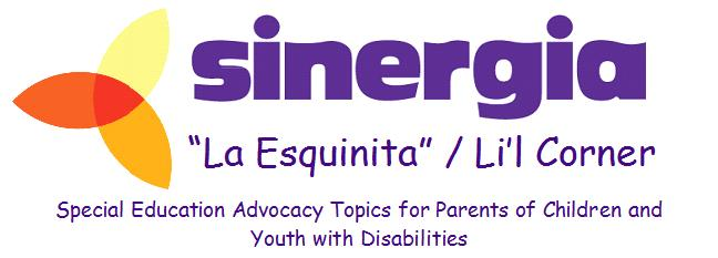 Sinergia's La Esquinita Blog
