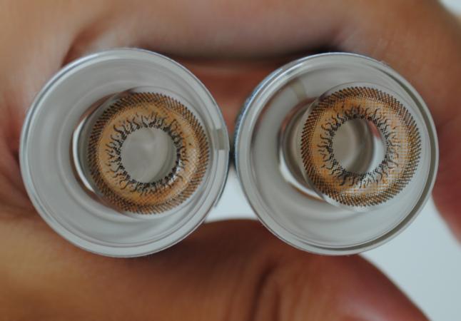 Geo Honey Wing Brown, OL104, Honey Wing, Geo, Jumily False Eyelashes No.02, Loveshoppingholics, Circle lens, Review, False Eyelashes, Jumily