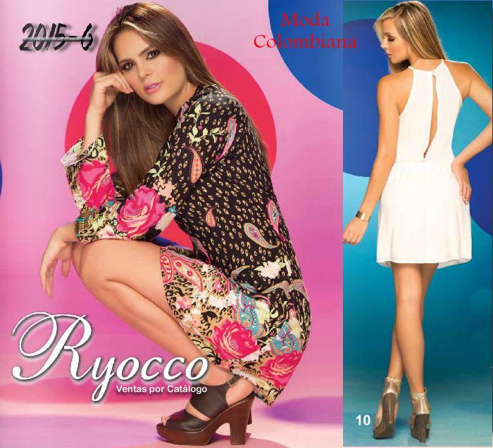 ropa del catalogo ryocco 2015 6 nuevos vestidos