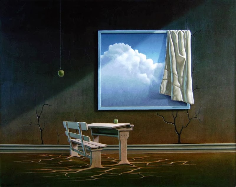 Thor Lindeneg - Danish Surrealist painter