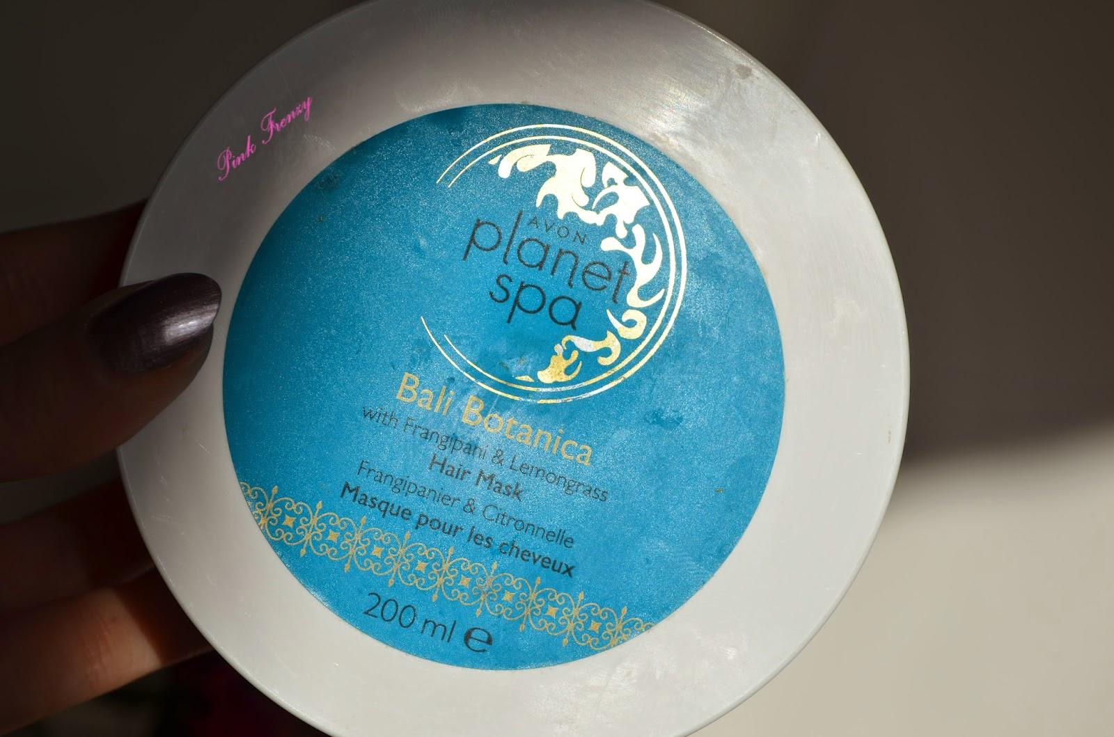 Avon Planet Spa Bali Botanica Hair Mask