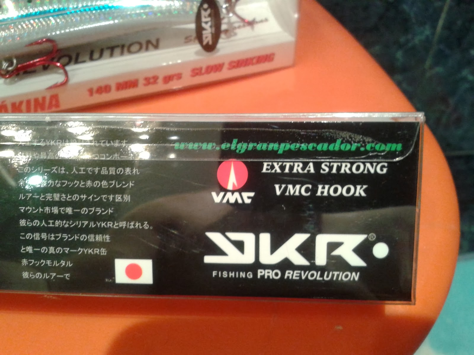 rickyvadepesca: YKR FISHING PRO REVOLUTION: Tienda EL GRAN ... - photo#32