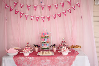 Tea Party for 2 Year Old Birthday Delicate Construction