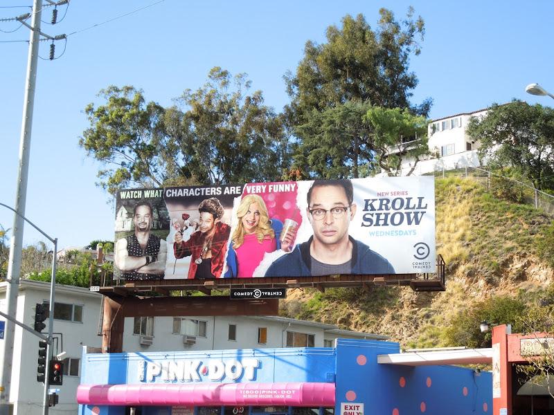 Kroll Show season 1 billboard