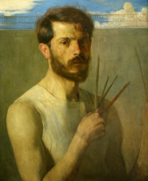 pintura autorretrato