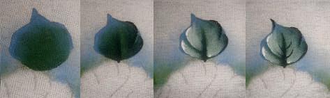 como pintar folhas em tecido folhas passo a passo