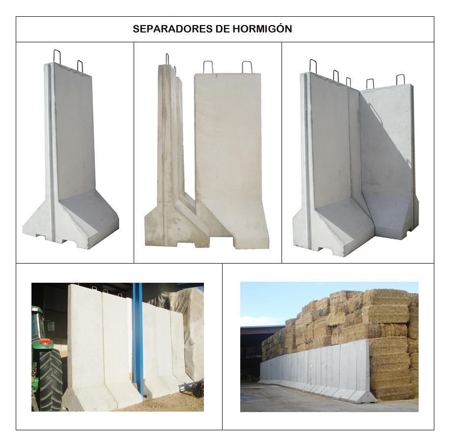 separadores de hormign para tierras cereales salida de humos retaurantes casas rurales