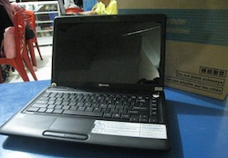 jual laptop seken toshiba satellite c640