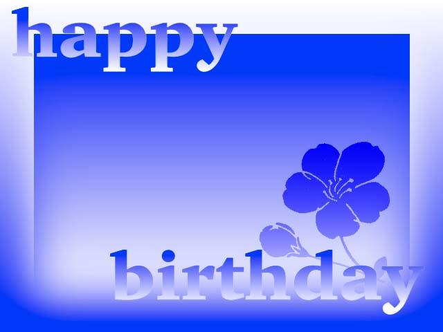 Contoh koleksi desain kartu ucapan ulang tahun dengan ...