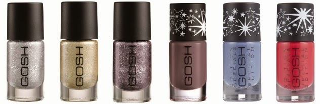 GOSH Nail Lacquers for Fall 2013 - with swatches! | Beauty Crazed in ...