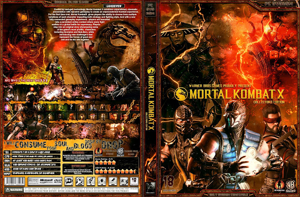 Capa Mortal Kombat X Collectors Edition PC