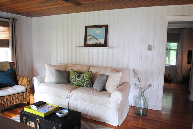Painted Knotty Pine