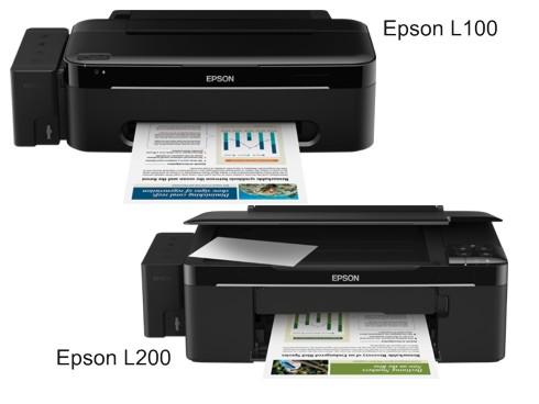 Printer infus Epson L100 - L200
