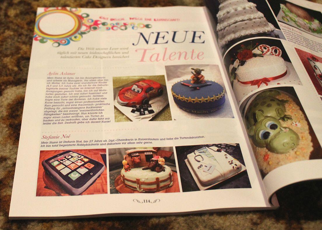 Crazy BackNoe: Die Cake Art und ich