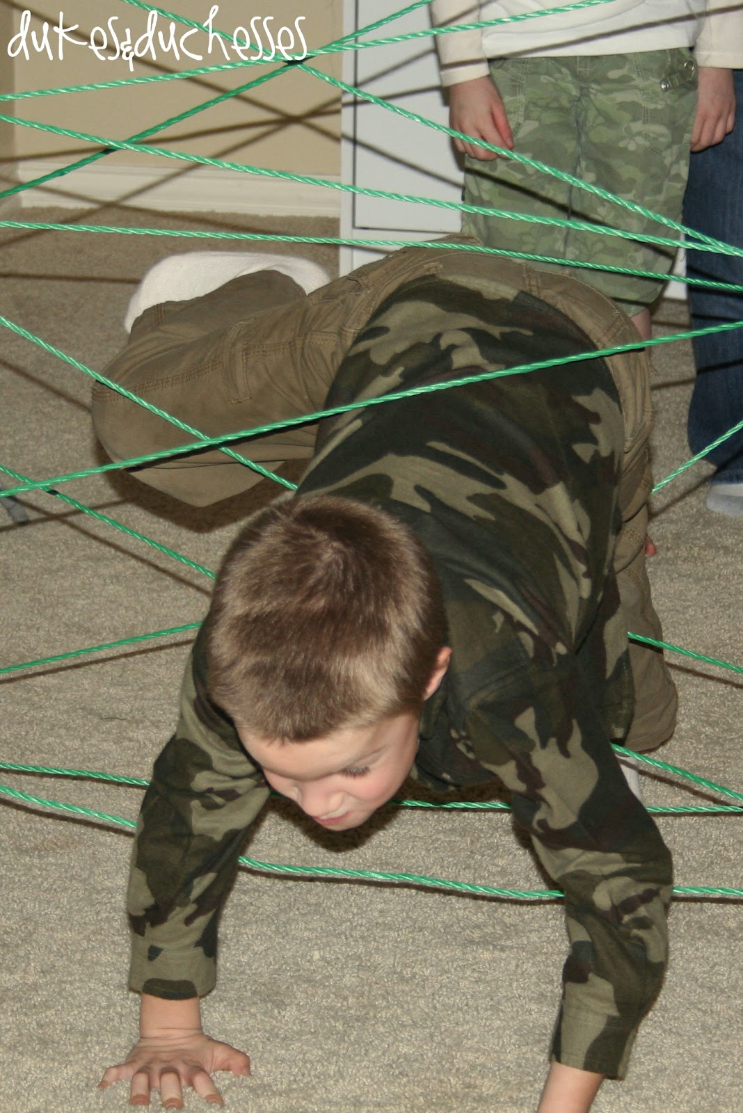 Army / Military Boot Camp Themed Boot Camp Party Idea for Kids