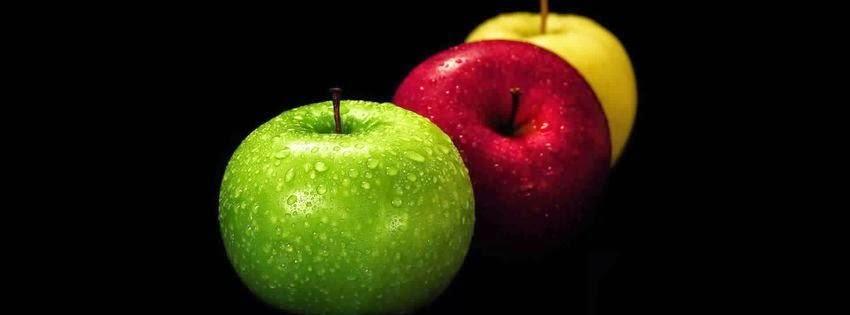 Couverture facebook fruit pomme