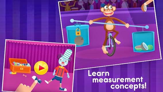 App para niños Shiny Circus