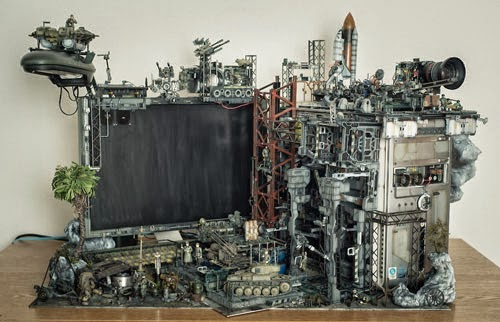 Memanfaatkan Komputer Bekas Untuk Diorama