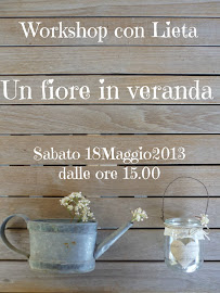 Workshop Un fiore in veranda