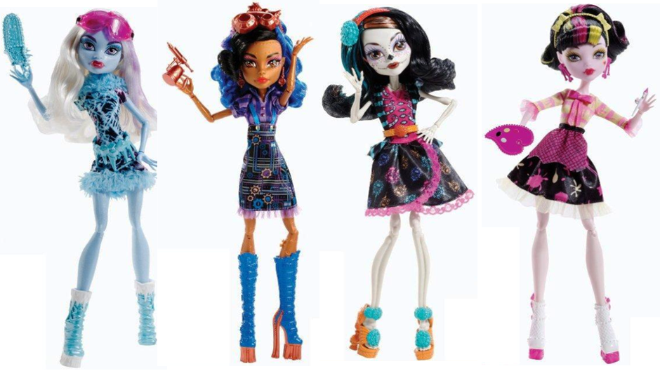 Monster High Art Class Doll line includes Draculaura Abbey Bominable Robecca Steam and Skelita Calaveras. Their release date is on January 2014 or maybe ...  sc 1 st  About Monster High Dolls & All About Monster High Dolls: Monster High Art Class Dolls| Pictures ...